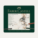 Faber-Castell Pitt Monochrome , μεταλλική κασετίνα 21 τεμαχίων
