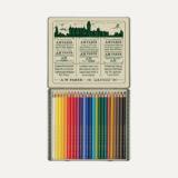 Faber-Castell Ξυλομπογιές Polychromos 111 ετών, Eπετειακή κασετίνα  24 χρωμάτων