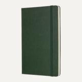 Moleskine L Σημειωματάριο σκληρό εξώφυλλο καρέ πράσινο