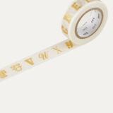 Mt Alphabet Gold R 15mmX10m MTEX1P40Z Αλφάβητο σε χρυσό